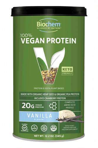 Vegan Protein Powder Vanilla 12.2 oz