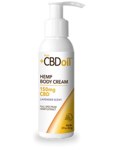Load image into Gallery viewer, CBD Cream Gold Formula 150mg Lavender - 2.9 Oz by Plus CBD oil