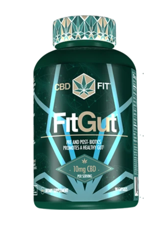CBD Fit Gut Capsules 30 Caps by CBD Fit