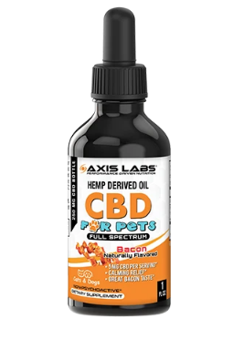 CBD for Dogs and Cats - 1oz Tincture (Bacon) by Axis Labs Inc