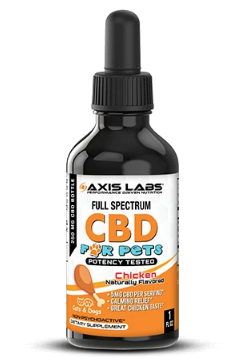 CBD for Dogs and Cats - 1oz Tincture (Chicken) by Axis Labs Inc