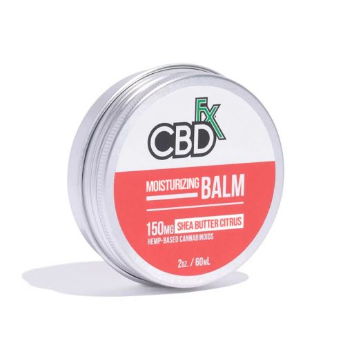 CBD Moisturizing Balm Shea Butter Citrus - 2 Oz by CBDfx