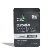 Load image into Gallery viewer, CBDfx - CBD Hemp Charcoal Face Mask - 50mg