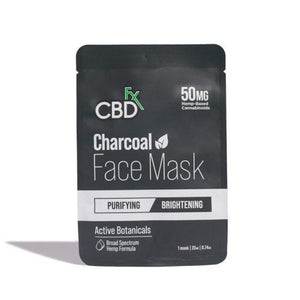 CBDfx - CBD Hemp Charcoal Face Mask - 50mg