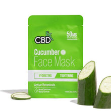 Load image into Gallery viewer, CBD Hemp Cucumber Mask by CBDfx