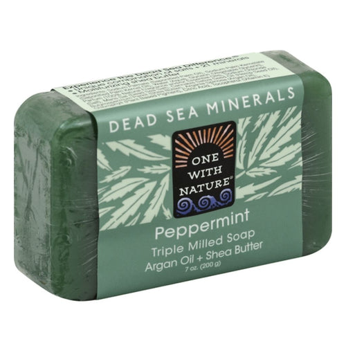 CBDSpaza.com Eclectic Institute Inc Hemp Bar Soap Peppermint 7 Oz