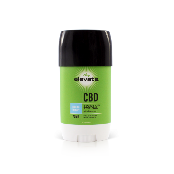 CBD Topical Cream Twist Up Cooling Therapy - 2 Oz by Elevate