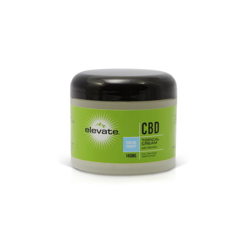 CBD Topical Cream Tub Cooling Therapy - 4 Oz by Elevate