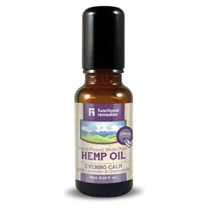 Functional Remedies Hemp Oil Roll On Evening Calm 20 ml