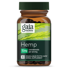 Load image into Gallery viewer, Hemp Liquid Phyto-Caps 15mg - 30 Count by Gaia Herbs