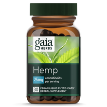 Load image into Gallery viewer, Hemp Liquid Phyto-Caps 25mg - 30 Count by Gaia Herbs
