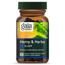 Load image into Gallery viewer, Hemp & Herbs Sleep - 30 Count by Gaia Herbs