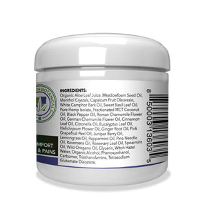 Green Earth Botanicals Hemp Muscle Gel 500mg - 4 Oz