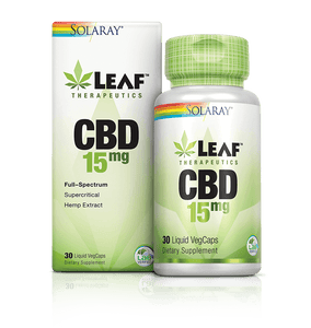 Leaf Therapeutics CBD Full Spectrum - 30 Count by Solaray