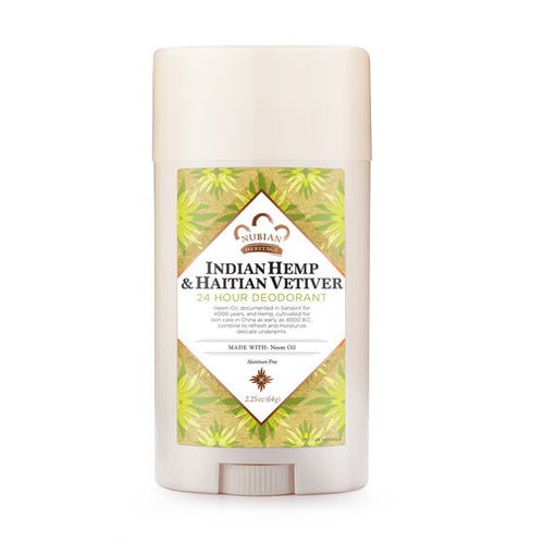 Indian Hemp & Haitian Vetiver 24 Hour Deodorant 2.25 oz