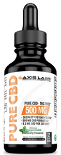 Load image into Gallery viewer, Pure CBD Oil Peppermint 500mg 2 oz