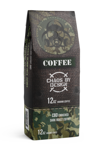 CBD Enriched Coffee 12 oz