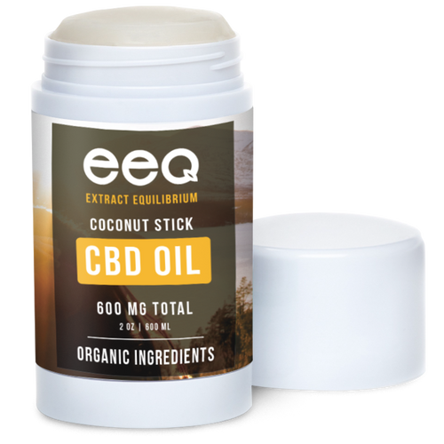 CBD Organic Shea Butter Coconut Healing Stick 600mg 2oz