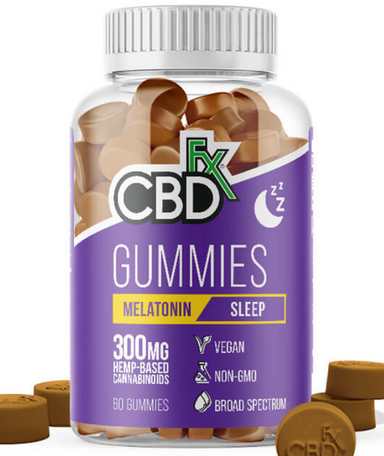 CBD + Melatonin Sleep Gummy 60 Count