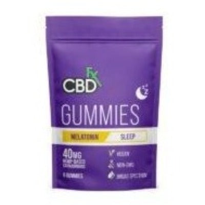 CBD + Melatonin Sleep Gummy 8 Count