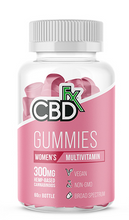 Load image into Gallery viewer, CBD Women Multi Vitamin Gummy 60 Count