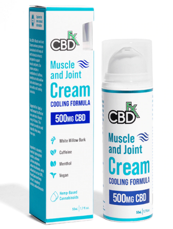 Muscle & Joint CBD Hemp Cream 500mg 50 ml