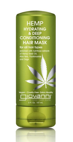 Hemp Hydrating & Deep Conditioning Hair Mask 5 oz