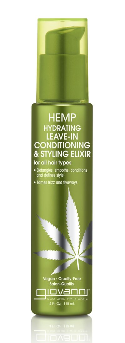 Hemp Leave-In Conditioner 4 Oz by Giovanni Cosmetics