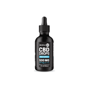 Natural CBD Drops 500mg 1oz