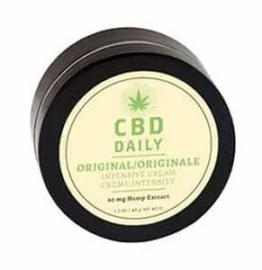 CBD Daily Intensive Cream Original Strength Mint Scent 1.7 oz