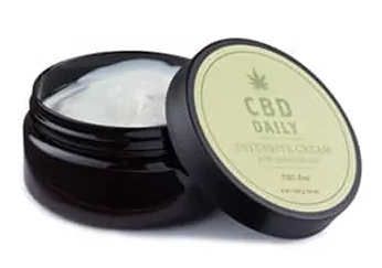 CBD Daily Intensive Cream Mint Scent 8 oz