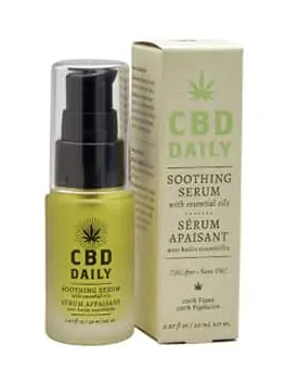 CBD Daily Soothing Serum Mint Scent 0.67 oz