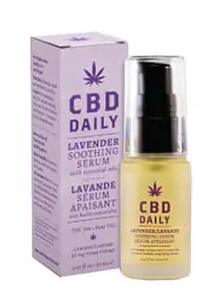 CBD Daily Soothing Serum Lavender 0.67 oz