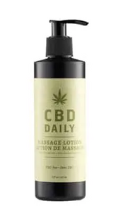 CBD Daily Massage Lotion Mint Scent 8 oz