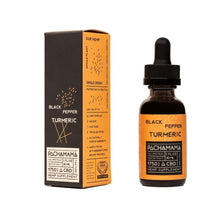 Load image into Gallery viewer, CBD Black Hemp Pepper Turmeric 1750mg 30 ml