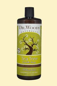 Tea Tree Castile Hemp Soap Liquid 32 oz