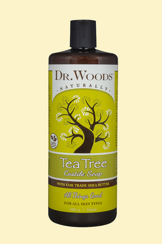 Tea Tree Castile Hemp Soap Liquid With Shea Butter 32 oz
