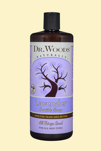 Lavender Castile Hemp Soap Liquid With Shea Butter 32 oz