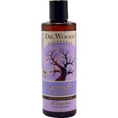 Lavender Castile Hemp Soap Liquid With Shea Butter 8 oz