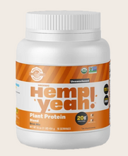 Load image into Gallery viewer, Hemp Yeah! Protein Powder Unsweetened 16 oz