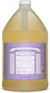 Pure-Castile Liquid Soap Lavender - 128 Oz by Dr Bronner's