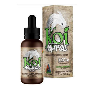 Koi CBD Hemp Extract CBD Oil Tincture | Spearmint Flavored (30 mL) 1000mg