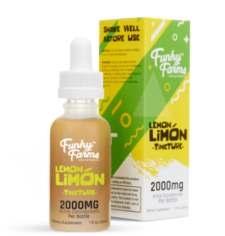 Lemon Limón Tincture 2000mg - 30 ml by Funky Farms