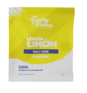 CBD Daily Dose Lemon Limon 33mg - 1 ml by Funky Farms