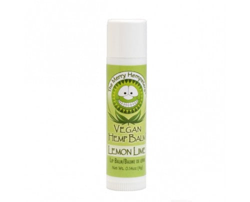 Vegan Hemp Lip Balm Lemon Lime - 0.14 Oz by Merry Hempsters