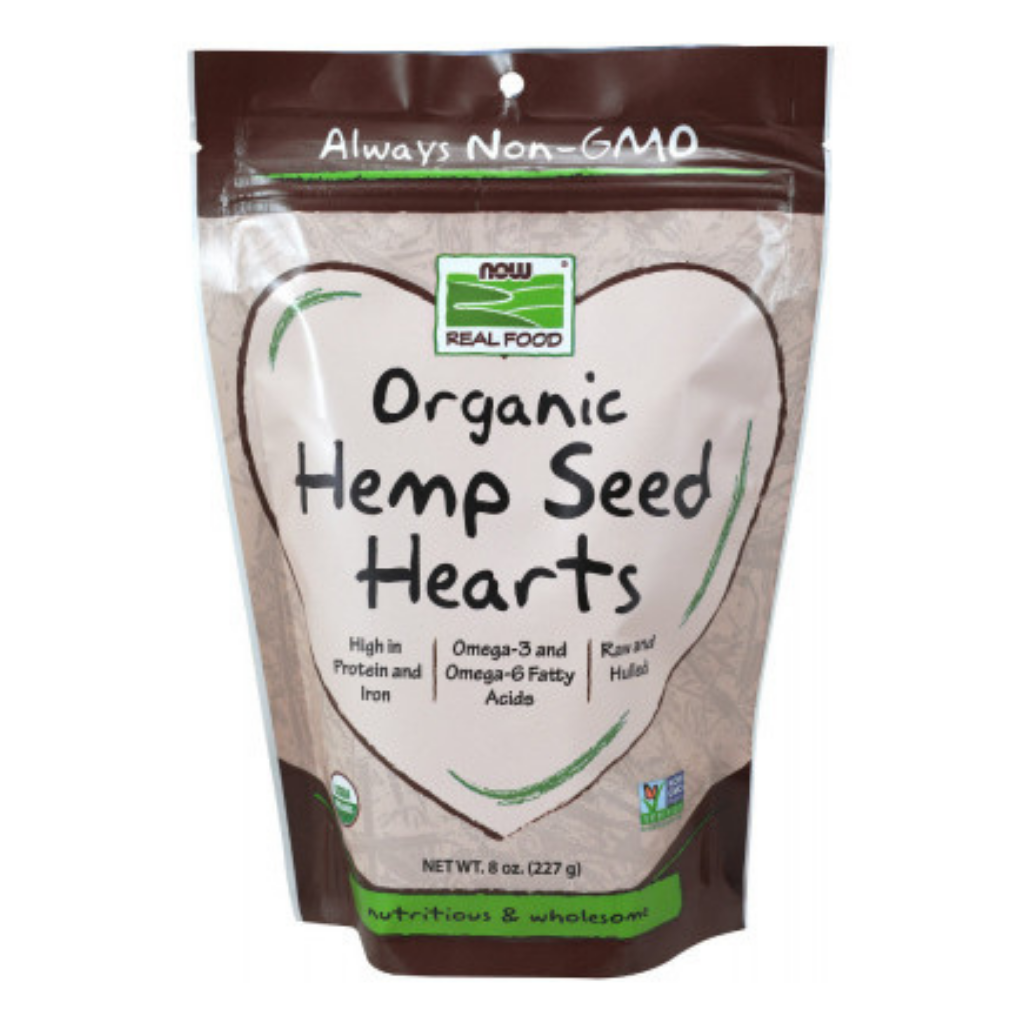 Organic Hemp Seed Hearts Unflavored - 8 Oz