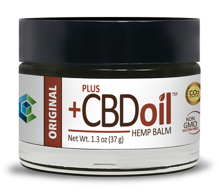 CBD Balm 50mg Original - 1.3 Oz by Plus CBD Oil