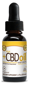 Hemp Oil Gold formula Drops - 1oz Unflavored by CV Sciences