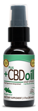 Load image into Gallery viewer, CBD Spray 100mg Peppermint - 1 Oz by Plus CBD Oil