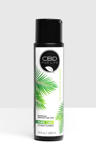Pure CBD Conditioner Unflavor 100mg - 10 fl Oz by CBD for Life